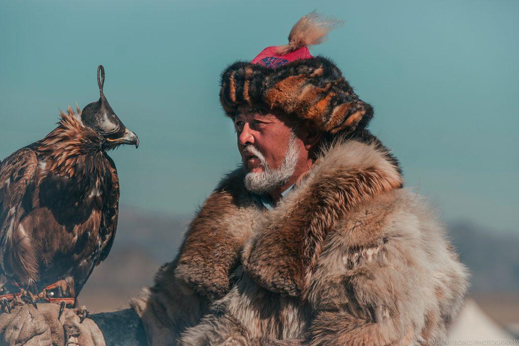 охотник с беркутом, Беркутчи 2019