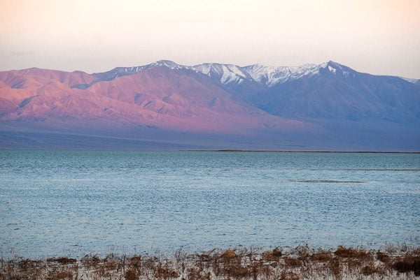 закат на озере Хар-Ус-Нуур