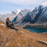Siberian ridges. Jeep tour