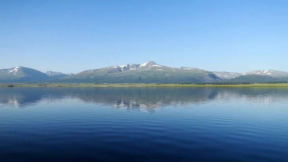 озеро Хурган Нуур