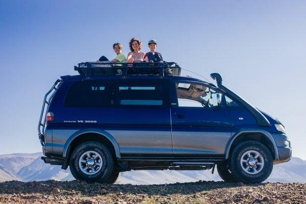 внедорожный микроавтобус для нашего путешествия