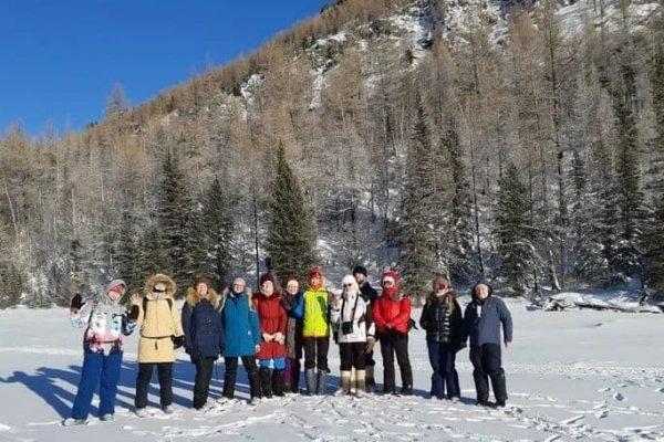 зимние прогулки, Горный Алтай