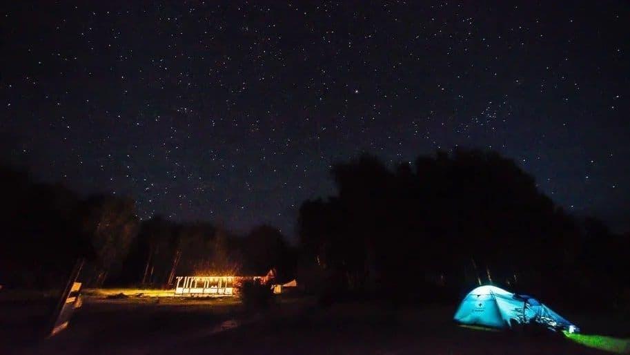 уютный вечер в Уймонской долине
