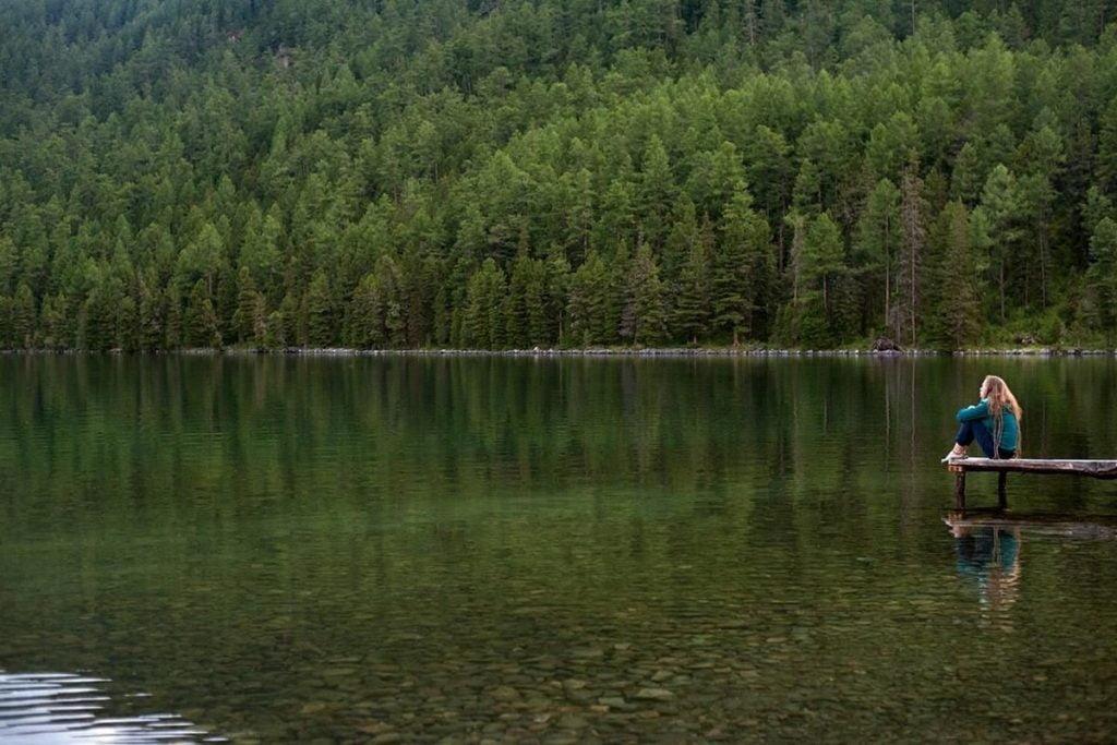 Нижнее Мультинское озеро, лесной массив. Фото - Вера Чупрова