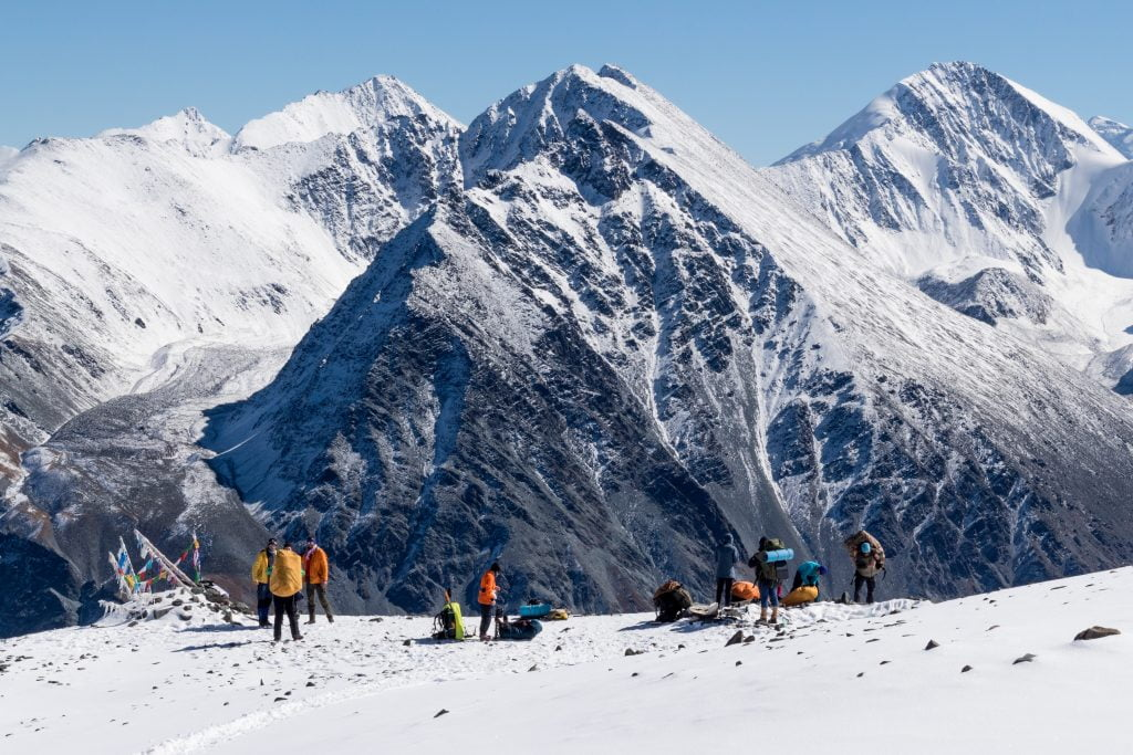 вид с перевала Кара-Тюрек, фото - Татьяна Александрова